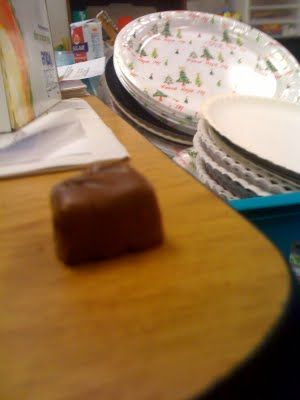 Demonstration of how Metamorphic Rocks form by using a snickers bar - heat and pressure makes metamorphic rocks