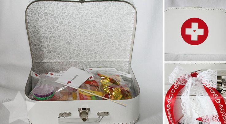 Ehe-Notfall-Koffer   Hübsch dekoriert