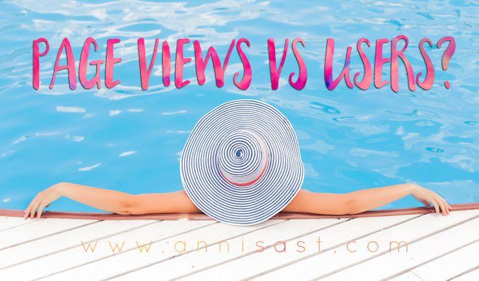 Page Views vs IUsers. Page Views Bukan Segalanya, Siapa Pembaca Blogmu? (1) | annisast.com