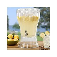 Buddeez 3.5 Gallon Beverage Dispenser with Removable Ice Cone - Sam's Club disassembles easily for storage.