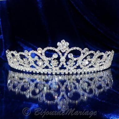 Adage, diadème mariage - Bijoux de Mariage