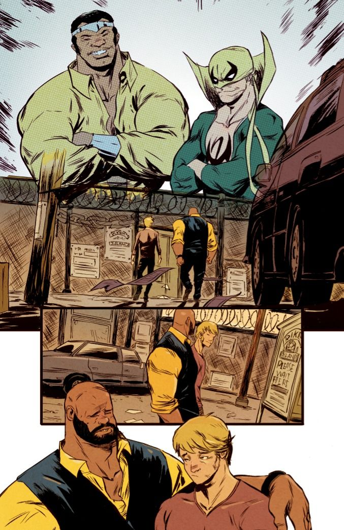 First Look: POWER MAN AND IRON FIST #1 - Comic Vine
