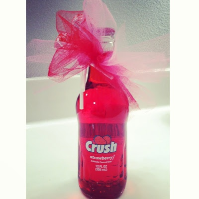 A little Valentine's CRUSH for teacher gifts