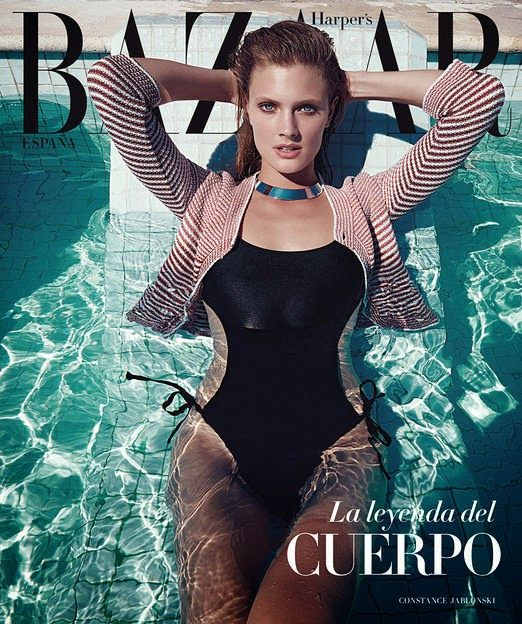 Fashion Model @ Constance Jablonski by Nagi Sakai for Harper's Bazaar Spain, May 2015
