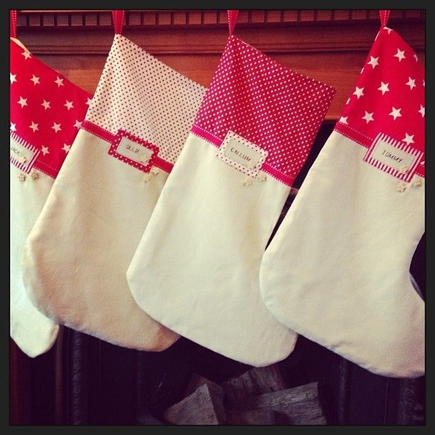 Handmade Personalised Christmas Stockings £15.00
