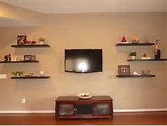 Floating wood wall shelves « Home Decoration, Improvement, Bedroom ...
