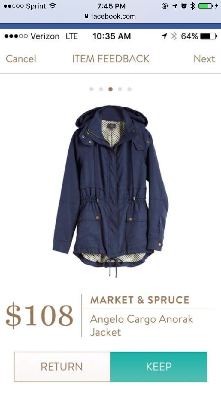 Dear Stitch Fix Stylist - I am a sucker for a hooded cargo jacket. Would love in Navy or Olive. Like a fitted look but big enough to wear a light sweater under it.
