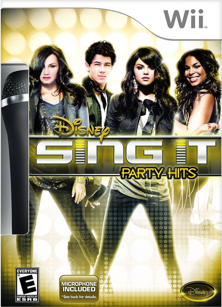 Nintendo Wii - Disney Sing It: Party Hits With Microphone>> I still have this and play on it sometimes