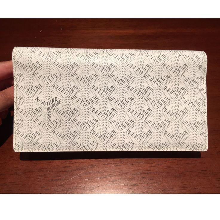 Goyard mens long wallet flap 2 fold color each color GOYARD - BUYMA
