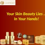 it is not just the eyes that analyze beauty; it is also the products in your hands that contribute to the beauty.