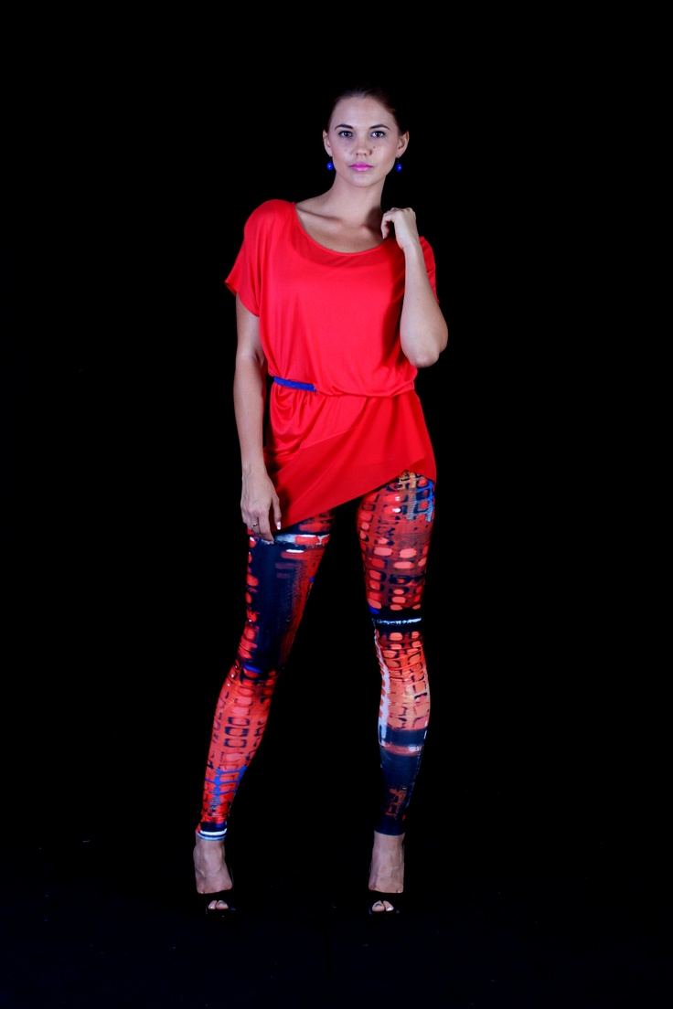'Bright Lights' leggings by Tangella $79 each - sm, med, lrg unique and very individual!   www.tangella.com.au