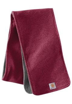 Carhartt Merlot Heather Boyne Scarf | Buy Now at camouflage.ca