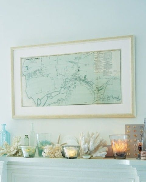 Beach House Mantel: 55 Delicate And Beautiful Beach-Inspired Mantels