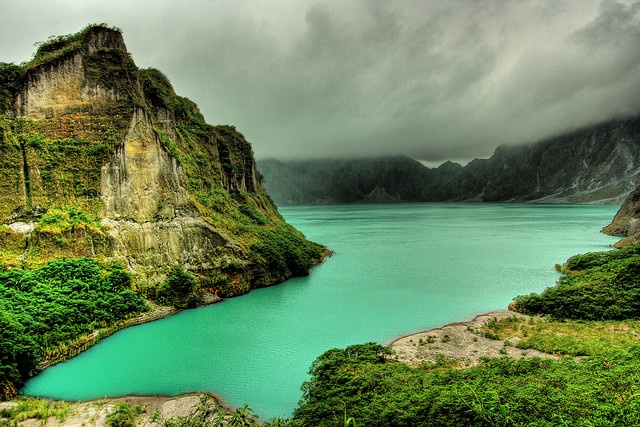 Mount Pinatubo - island of Luzon. Philippines...lived there for 2 years...my favorite place the Air Force took us...
