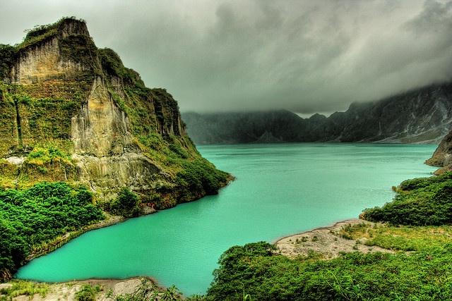 Mount Pinatubo - Island of Luzon. Philippines