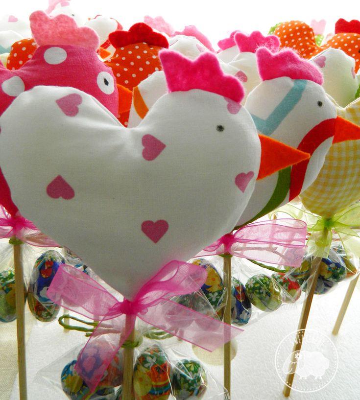 Sweet behe: gallinelle a cuore