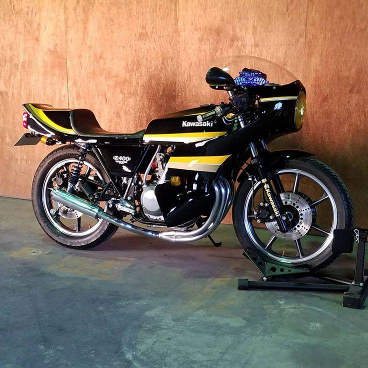 Nori Tabata On Instagram 初投稿 Z400fx Z550fx ダイシンマフラー最高 Bike Motorcycle Kawasaki