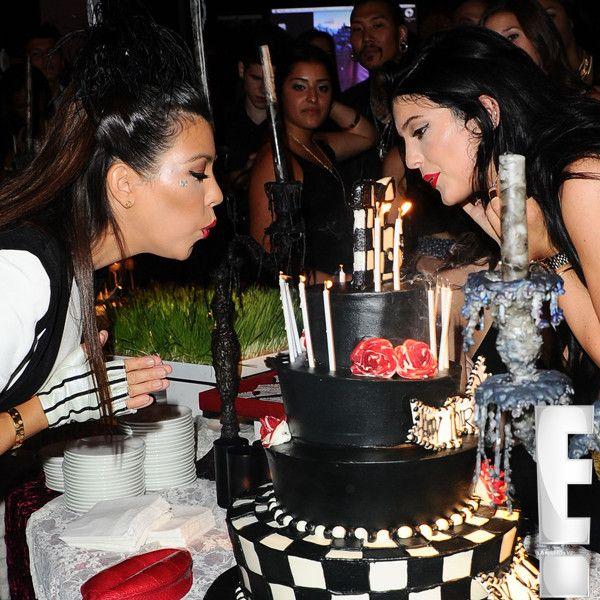 On Kardashians Birthday Cakes Kylie Jenner And Sweet