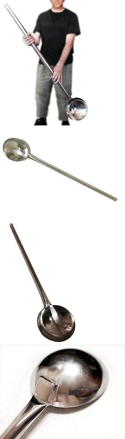 Cooking Utensils 20649: Giant Oversized Ladle Large Pot Spoon Almost 4 Feet Long Big Industrial Soup Bar -> BUY IT NOW ONLY: $69.79 on eBay!