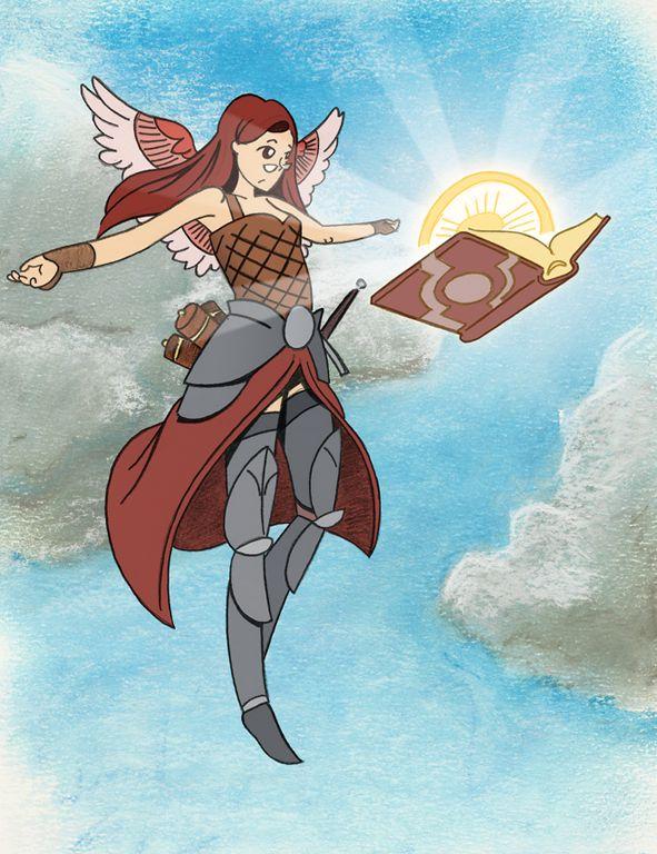 Archangel of Thune chanting by dscheiling.deviantart.com on @DeviantArt