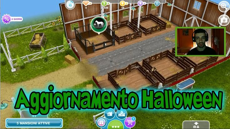 The Sims Freeplay Gameplay ITA -7°: Aggiornamento Halloween