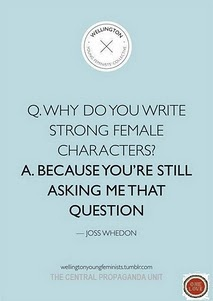 Boom.Joss Whedon.: Female Characters, Inspiration, Strong Female, Quotes, Joss Whedon, Writing, Josswhedon, Things, Feminism