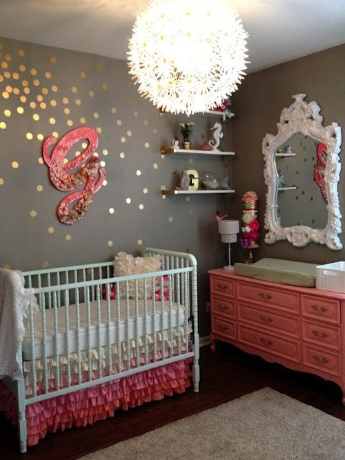 Browse some of our adorable girl nursery finds, to help get some great ideas.