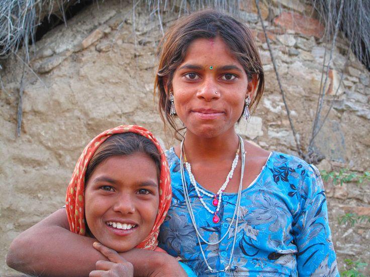 Girls in the village, Roopangarh