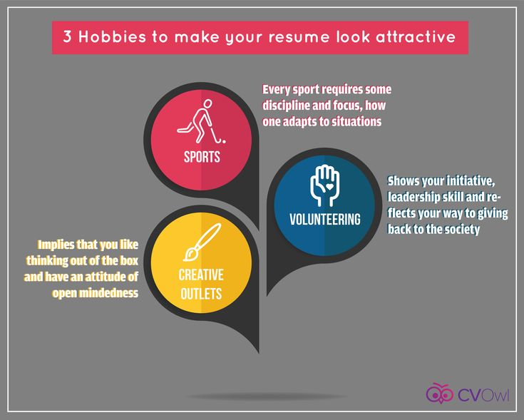 3 hobbies to make your resume look attractive resume
