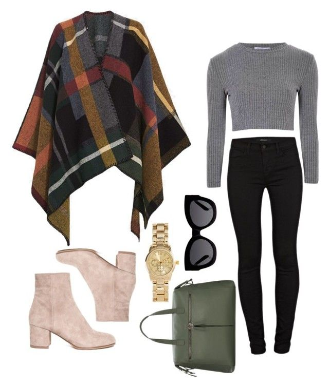 """Untitled #26"" by gomezel on Polyvore featuring Holzweiler, J Brand, Glamorous, Karen Walker and H&M"