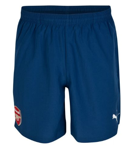 Arsenal Training Shorts Blue Arsenal London Official Merchandise Available at www.itsmatchday.com