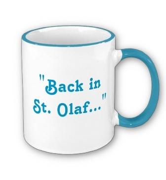 "Rose Nylund ""Back in St. Olaf"" Golden Girls coffee mug :)"