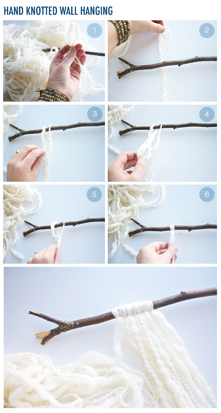 DIY Wall Hanging: If You Can Tie a Knot, You Can Do This