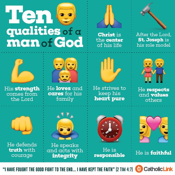 Catholic-Link's Library - Infographic: 10 qualities of a ...