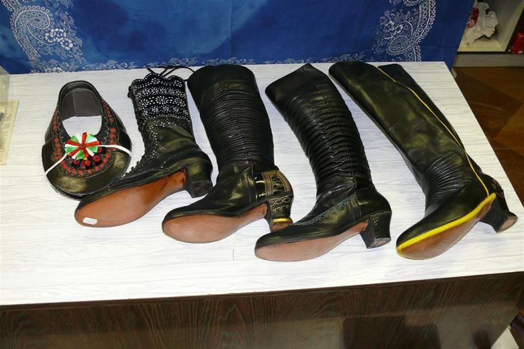Svatopluk Hýža - shoes and boots from Slovácko