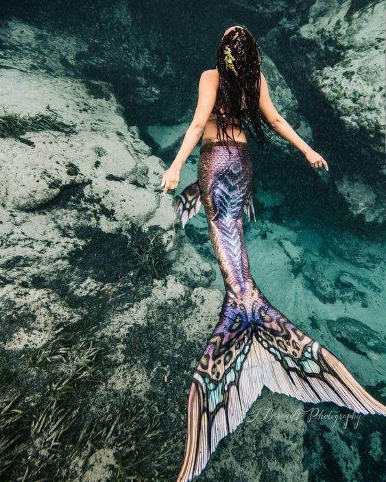 Картинки русалки с крыльями