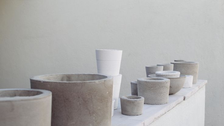 Work in process // ...  #urban_terra #concreteplanters #concrete