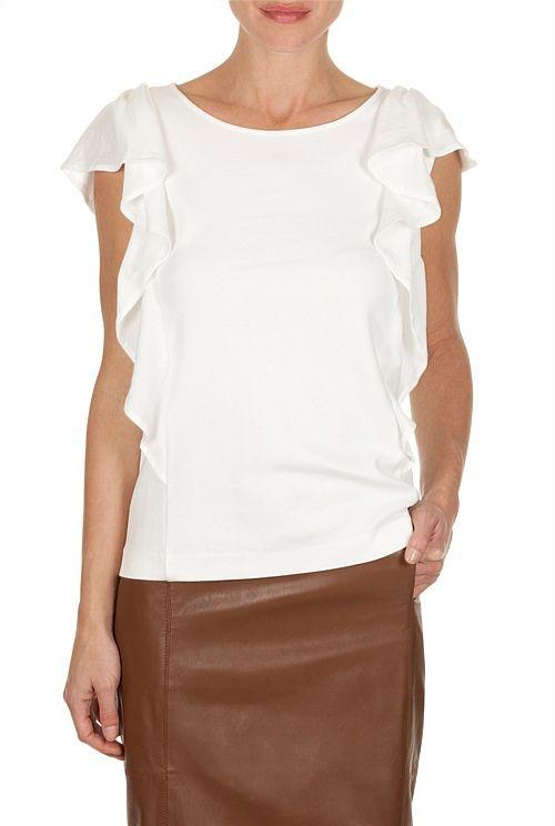 Sculpted Sleeve T-Shirt