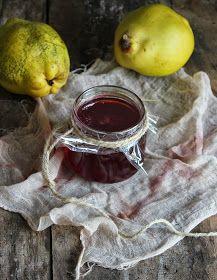 Vanilla&Staubzucker: Quince jelly - Gelatina di mela cotogna - Želatina od dunja