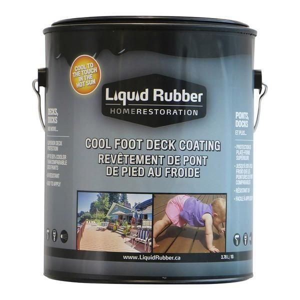Liquid Rubber Cool Foot Deck Dock Coating Liquid Rubber Building A Deck Deck