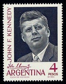 John F. Kennedy Argentina, 1964- Argentina memorialized United States President John F. Kennedy (1917-1963)