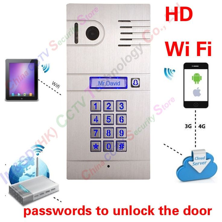 188.33$  Watch here - http://alipsk.worldwells.pw/go.php?t=32577196872 - Hot New 3G 4G/ WiFi IP intercom system two-way intercom and remotely unlock door, global video door phone Code Keypad 188.33$
