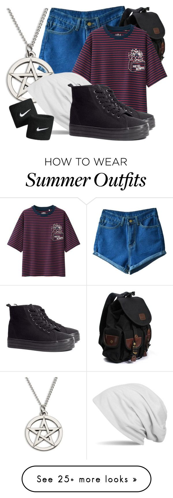 """""""Roxy's Outfit"""" by lifeofwild on Polyvore featuring Uniqlo and H&M"""