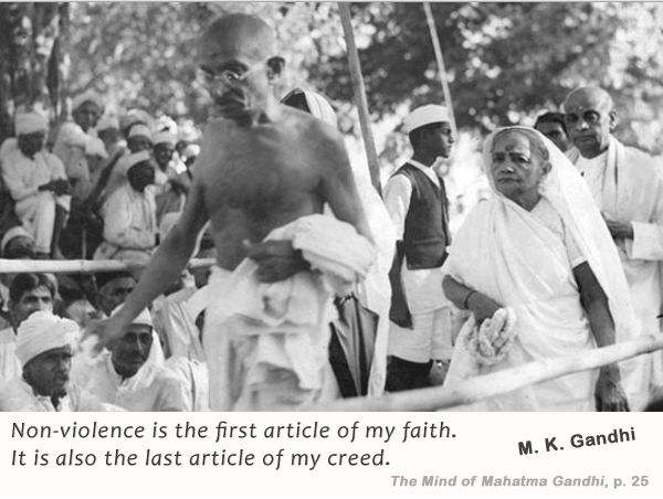 a look at mohandas gandhis the absolute truth about god From mohandas to mahatma: the spiritual metamorphosis of in his work and in his god finally, gandhi, as a mahatma his truth, and in his being a mahatma.