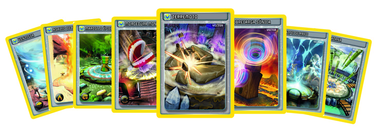 1. Did you know that there are 8 vector cards, one for each attack type? Choose your vector well before entering battle and you'll have an extra bonus!