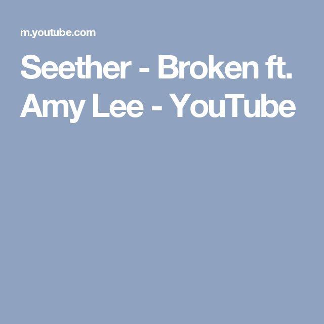 Seether - Broken ft. Amy Lee - YouTube