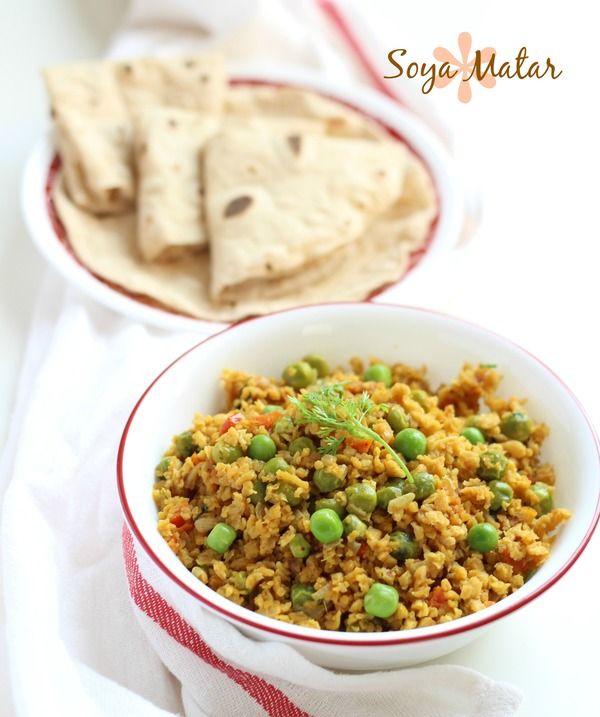 soya matar sabji recipe step by step