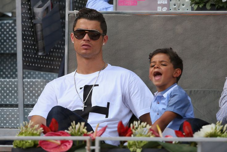 Cristiano Ronaldo & Cristiano Jr - Touching Moment (Part 1)