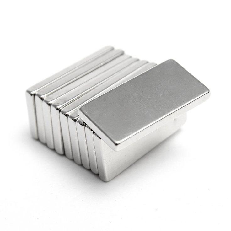 5ピーススーパー強いネオジム磁石ブロック立方体希土類磁石n35 20 × 10 × 2ミリメートル