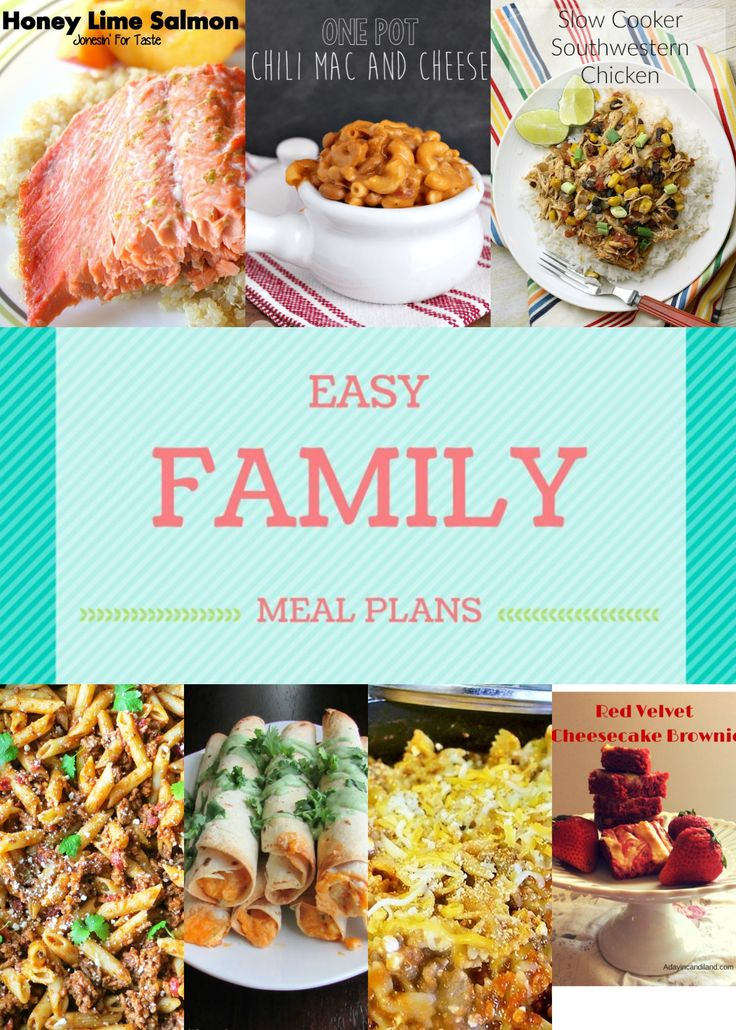 I Hope Everyone Has Fully Recovered From All The Superbowl Shenanigans Here Is Easy Family Meal Plan Week To Help Your Planning Go Extra Smooth